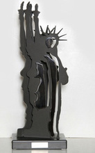 Fernandez ARMAN - Sculpture-Volume - Le Fantome Liberte