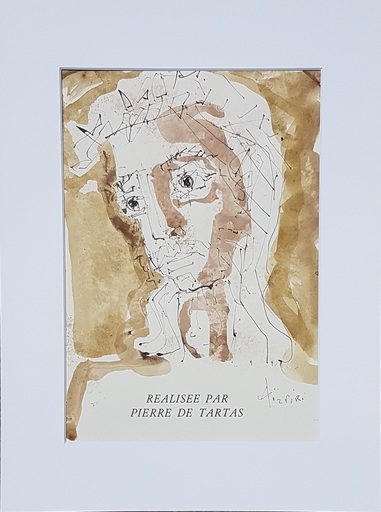 Paul AIZPIRI - Dessin-Aquarelle