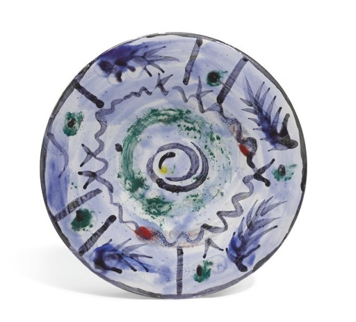 Pablo PICASSO - Keramiken - Décor informel III