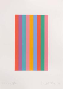 Bridget RILEY - Print-Multiple - Sideways