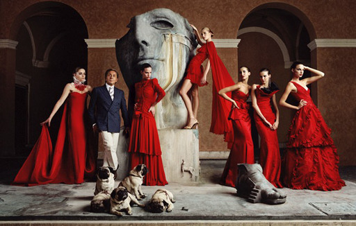 Lorenzo AGIUS - Fotografia - Valentino with models
