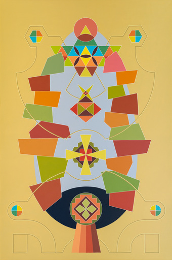 Enrique Rodriguez GUZPENA - Painting - Ramo del cereal