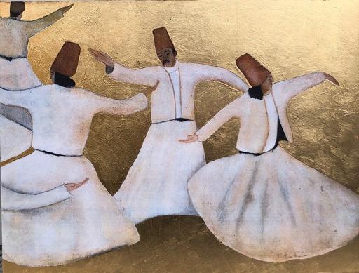 Franco BATTIATO - 版画 - Dervisci danzanti