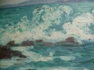 Jean PESKÉ - Gemälde - La Vague