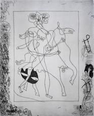 乔治•布拉克 - 版画 - Theogony of Hesiod | La Théogonie d'Hésiode