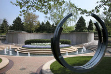 Bernar VENET - Escultura - 2365° Arc x IV