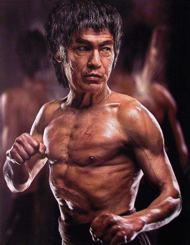 Andrzej DRAGAN - Photo - Old Bruce Lee