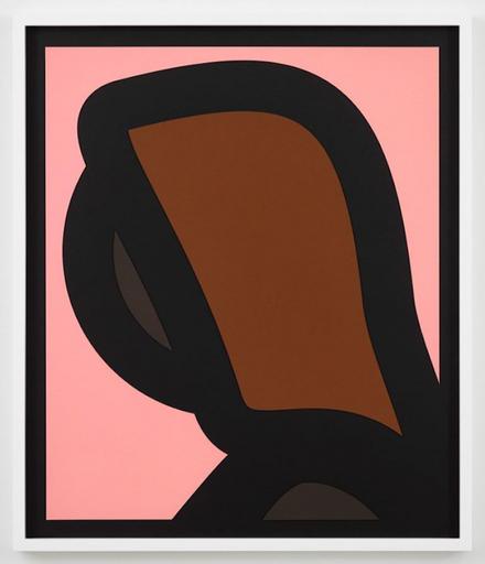 朱利安•奥培 - 版画 - Paper Head 1