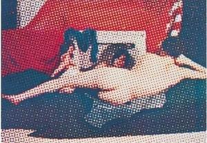 Alain JACQUET - Peinture - Venus au miroir