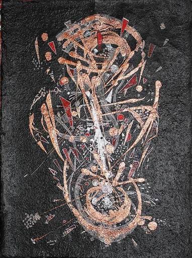 Vasily KAFANOV - Painting - Black Abstraction