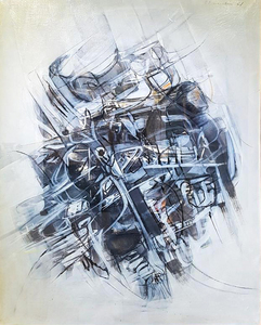 Edoardo FRANCESCHINI - Gemälde - Viaggio Ultimato
