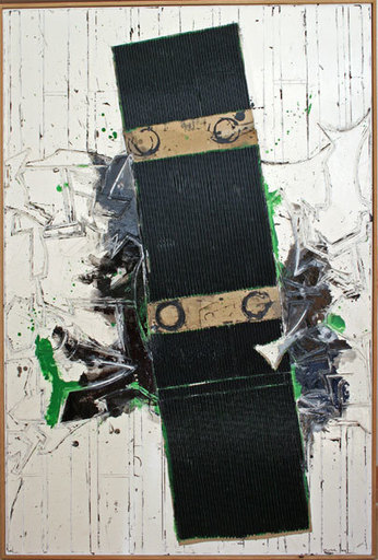 John Harrison LEVEE - Painting - Janvier I - 2000