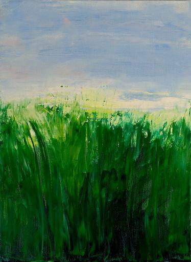 Bernard PINEAU - Painting - H009 Herbes sauvages
