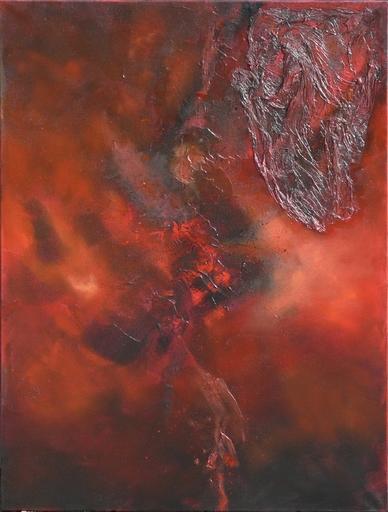 Fabienne RIBEYROLLES - Peinture - Nuée Ardente