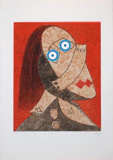 Enrico BAJ - Print-Multiple - Baj chez Picasso