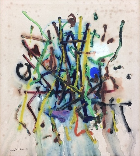 Toshio YOSHIDA - Peinture - Sans titre