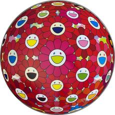 Takashi MURAKAMI - Print-Multiple - Thinking Matter (Red)