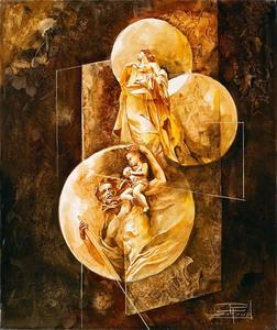 Roger SURAUD - Pittura - Héritage