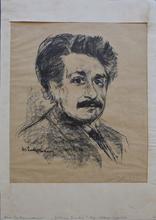 Max LIEBERMANN - Print-Multiple - Portrait Albert Einstein