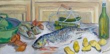 Anne DE LARMINAT - Painting - Un bon gros mulet