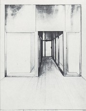 CHRISTO - Print-Multiple - Monuments, Store Front Corridor