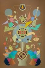 Enrique Rodriguez GUZPENA - Painting - Oro, rocío y laureles