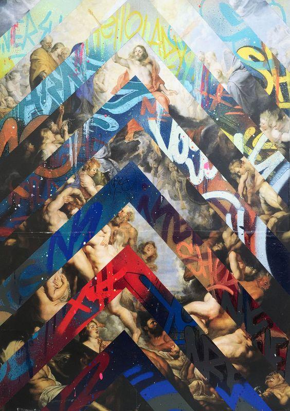 "Arnaud PUIG - Pintura - VERSUS ""ELEVATION"""