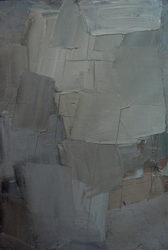Alfredo CHIGHINE - Pintura - Immagine in grigio