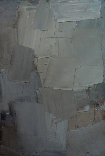 Alfredo CHIGHINE - Gemälde - Immagine in grigio
