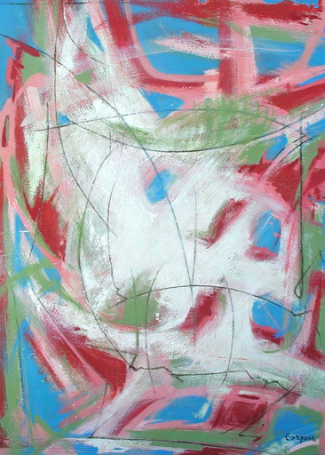 Antonio CORPORA - Gemälde - Composizione