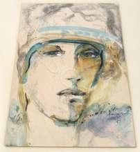 Peter ANDERMATT - Zeichnung Aquarell - Portrait