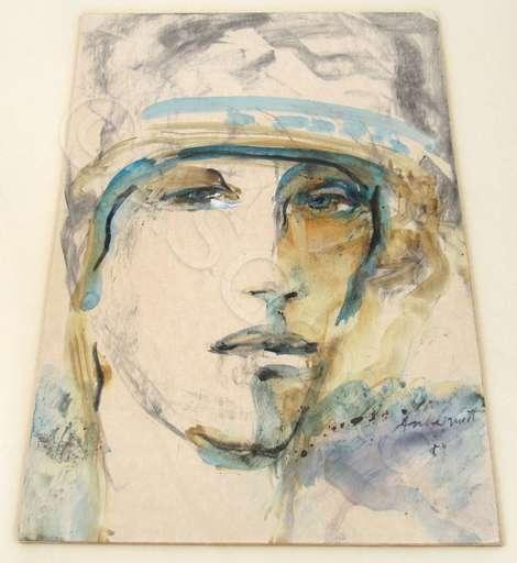 Peter ANDERMATT - Drawing-Watercolor - Portrait