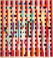 Yaacov AGAM (1928) - Composition with Star of David