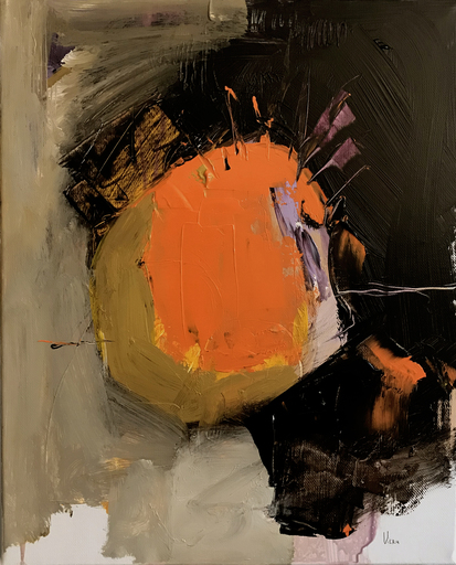 Doina VIERU - Painting - Orange