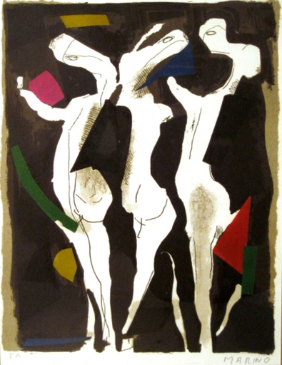 Marino MARINI - Print-Multiple - Sacred Du Printemps (the Rite of Spring ), for XXe Siecle