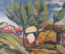 Élisée MACLET - Painting - Landscape Circa 1920