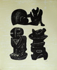 Henry MOORE - Druckgrafik-Multiple - Three Sculptural Forms, from: Poetry   La Poésie