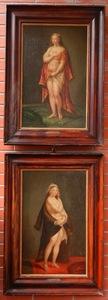 Johann Baptist I VON LAMPI - Pintura - Baroque portraits Helena Fourment (1614-1673)