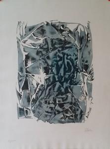 CÉSAR - Print-Multiple - COMPRESSION BLEUE