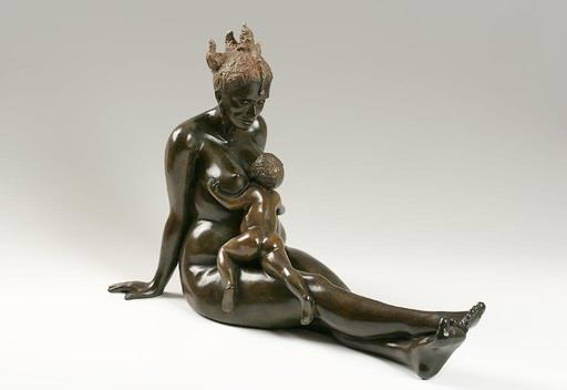 MIROGI - 雕塑 - la princesse et l'enfant