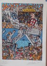 Robert COMBAS - Print-Multiple - Fete S Louis