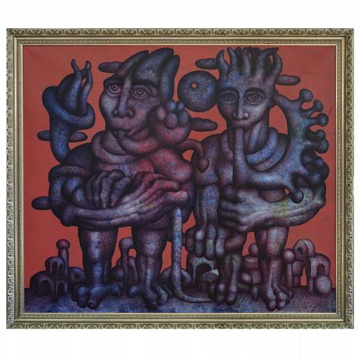 Walter MAC MAZZIERI - Pintura - Teatrino del flauto nano