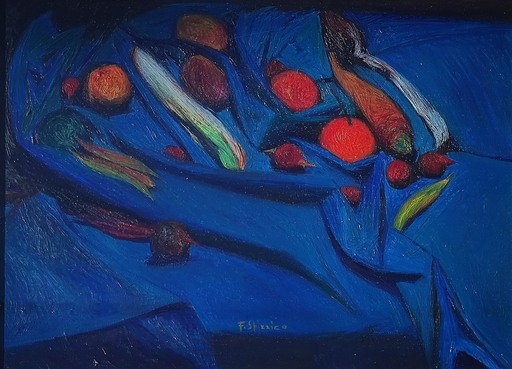 Francesco SPIZZICO - Painting - Senza titolo