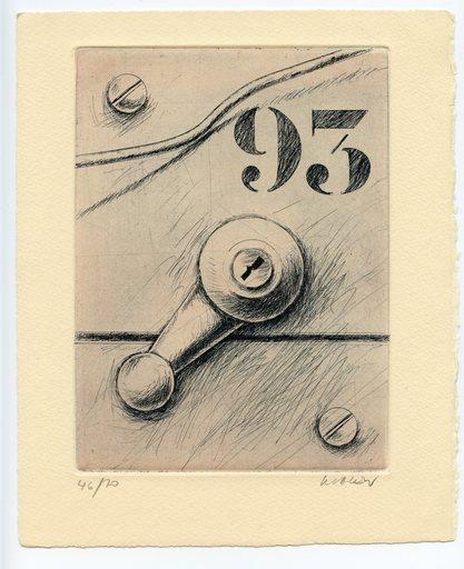 Peter KLASEN - Print-Multiple - GRAVURE SIGNÉE AU CRAYON NUM/70 HANDSIGNED NUMB ETCHING