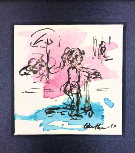 Nicole LEIDENFROST - Gemälde - Vor der Eisdiele