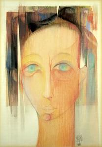 Jordi ALUMA MASVIDAL - Drawing-Watercolor - Cara Adolescent