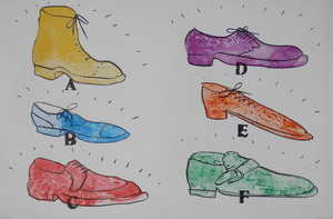Jim DINE, Shoes
