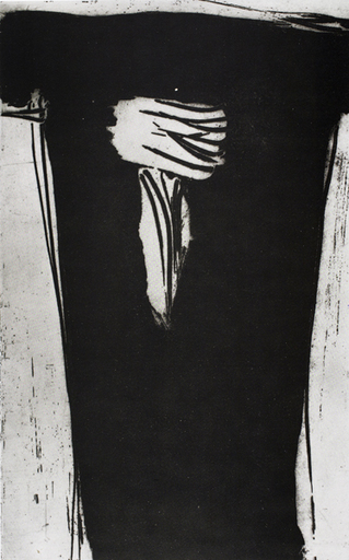 Olivier DEBRÉ - Estampe-Multiple - Signe personnage V