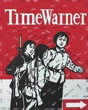 WANG Guangyi - Pintura - Great criticism: Time Warner