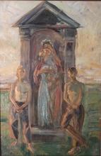 Vlastimil HOFMAN - Painting - Madonna
